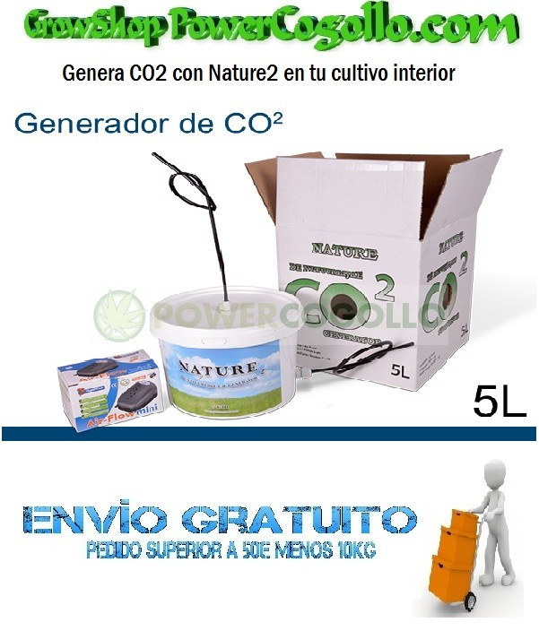 Nature Generador de CO2 5Lt 0
