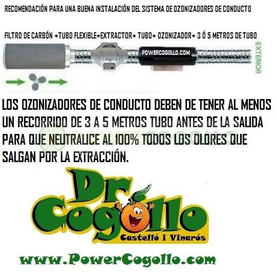 Ozonizador Ozotr3S Conducto 250mm (10000MG/H) 4