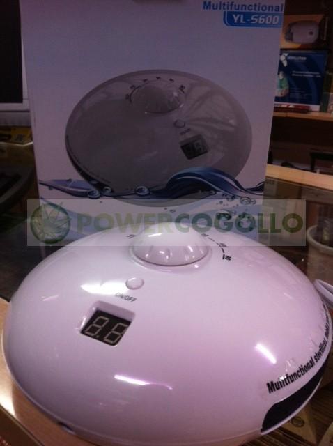 Ozonizador Ovni Aire y Agua (Piedra Difusora) 8w 1