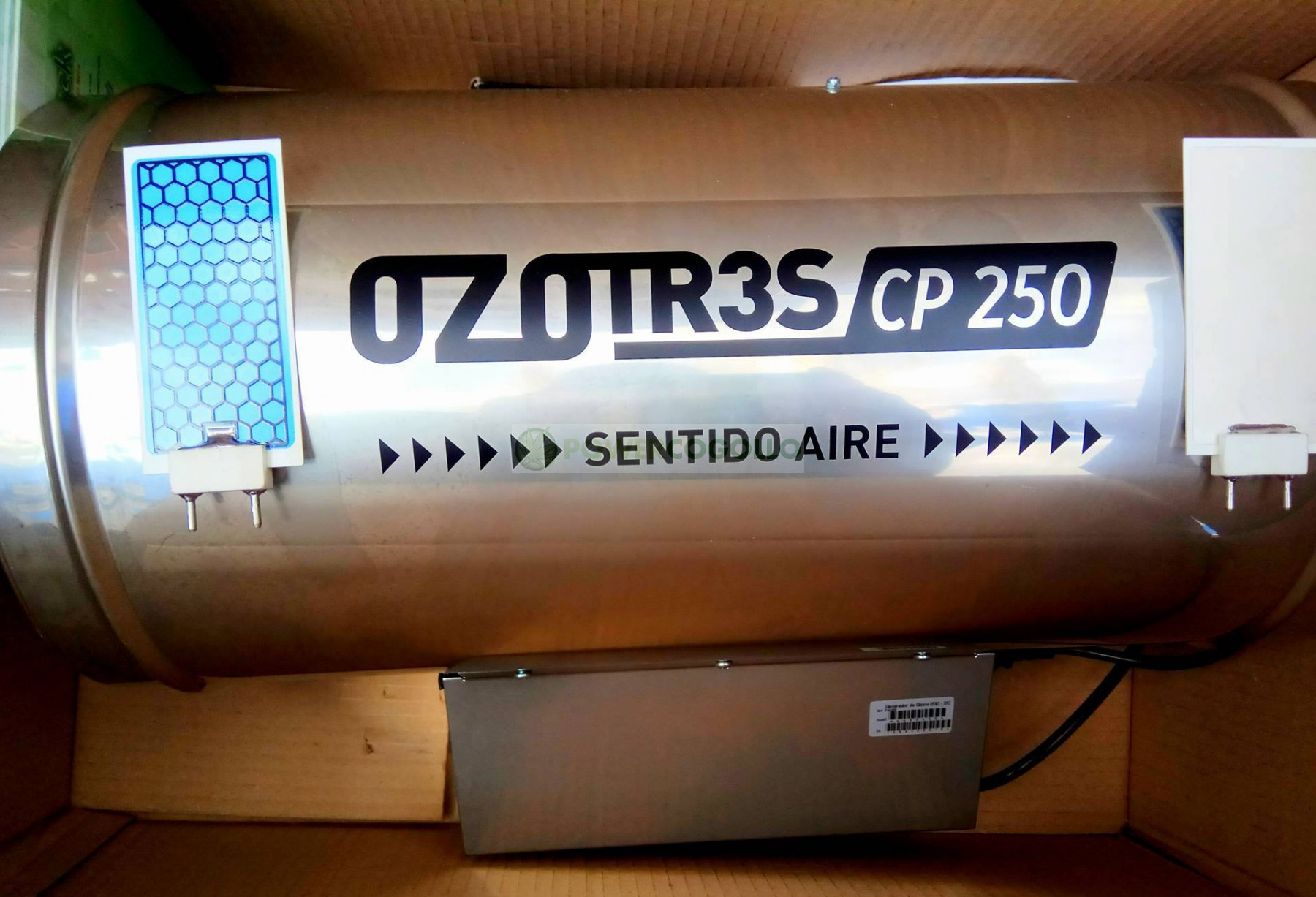 Ozonizador Ozotr3S Conducto 150 mm (5000MG/H) 1
