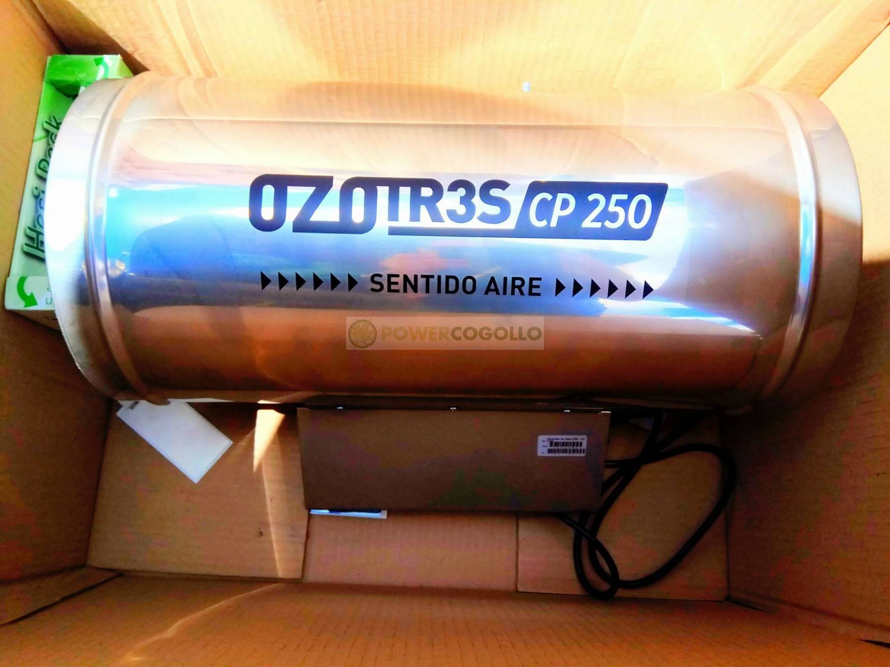 Ozonizador Ozotr3S Conducto 250mm (10000MG/H) 0