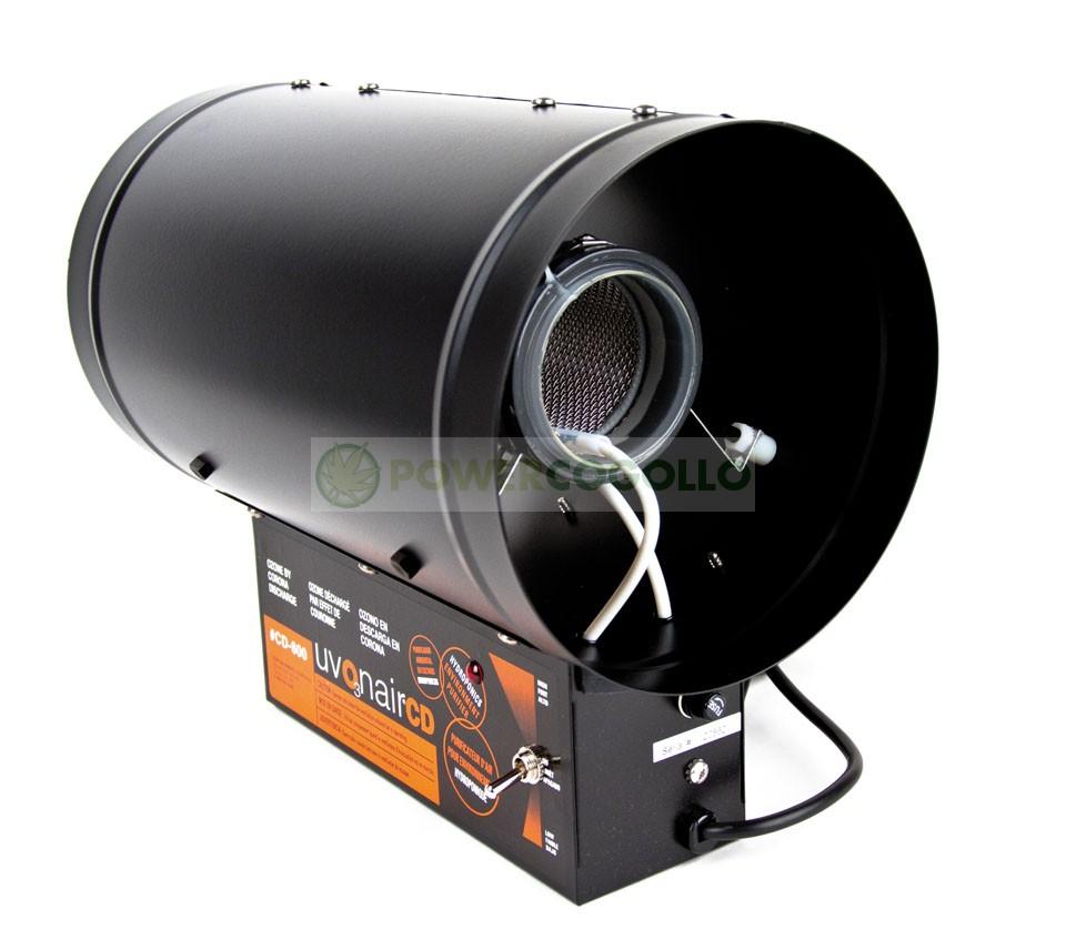 Ozonizador Uvonair CD800 Elimina el olor de Conducto y Habitación de Cultivo 0