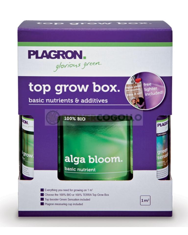 Pack de Fertilizantes Top Grow Box 100% Bio  0