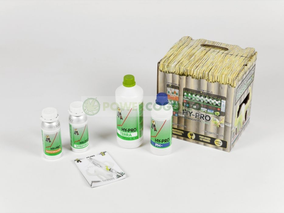 Pack Tierra Hy-Pro Abonos para el Cultivo de marihuana 0