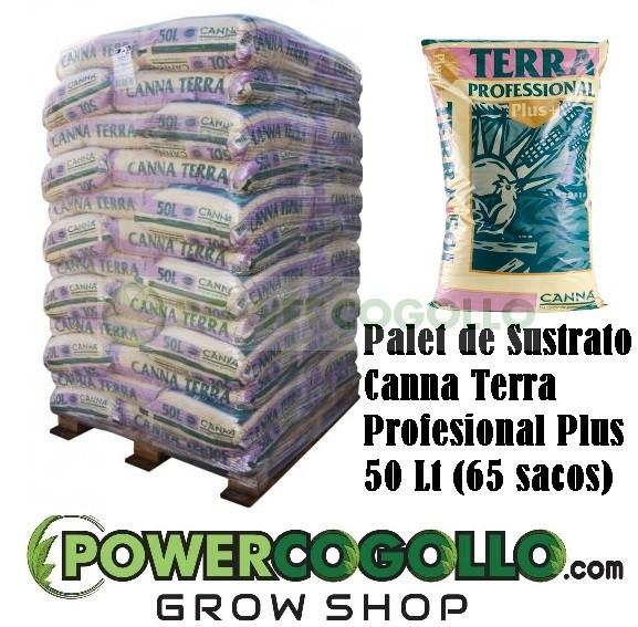 Palet Sustrato Canna Terra Profesional Plus 50 Lt (65 sacos) 0