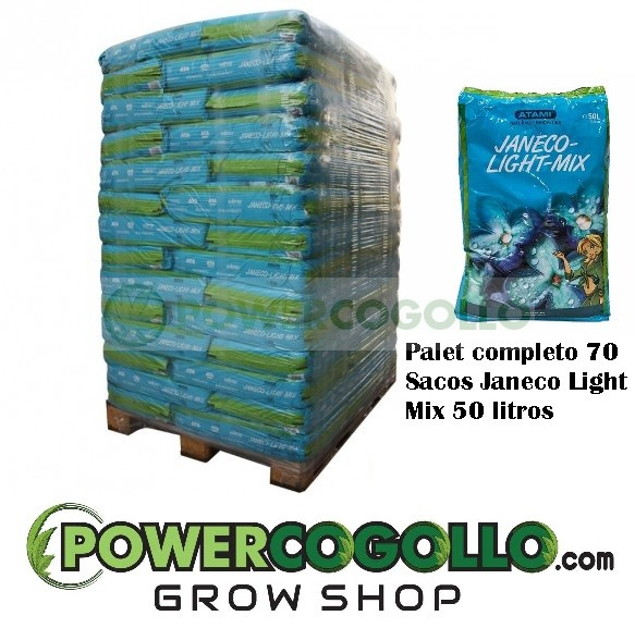 Palet Sustrato Janeco Light Mix 50 Lt (70 sacos) 0