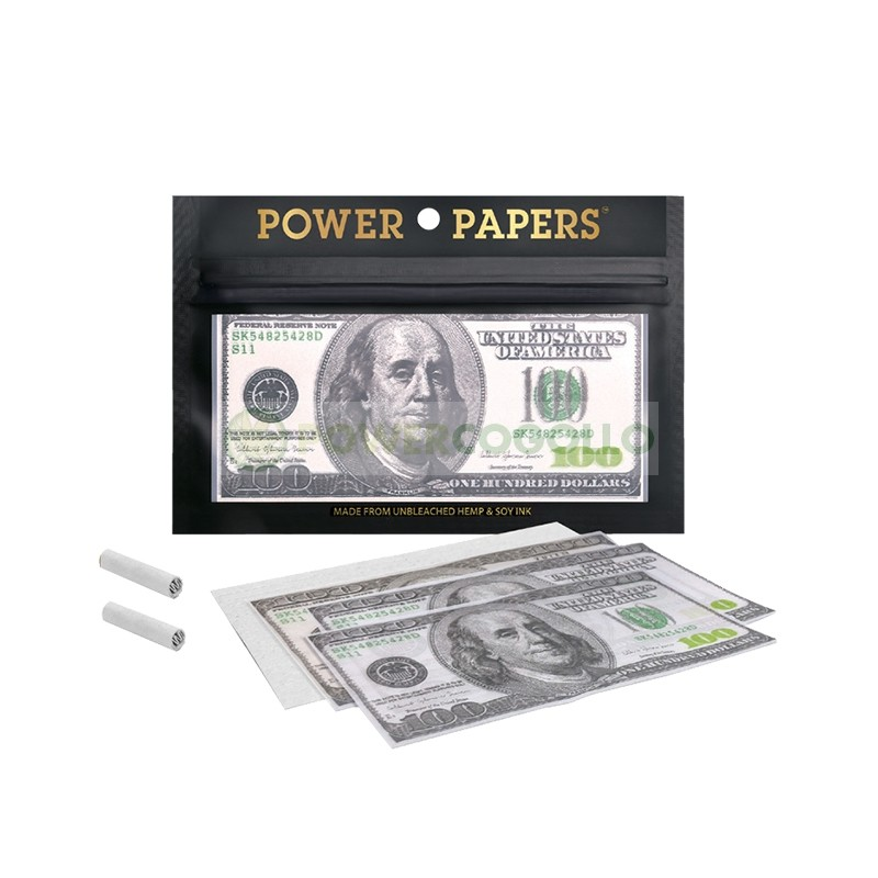 Papel de fumar diseño Billetes 100 Dollars 1