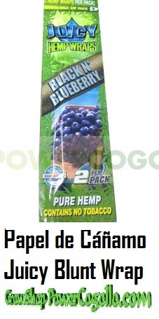 PAPEL DE CAÑAMO HEMP WRAPS JUICY BLUNT ARÁNDANOS 0