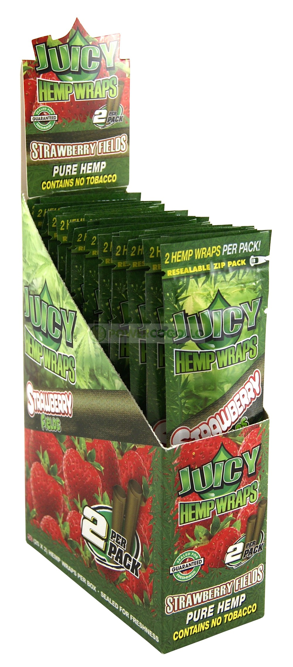PAPEL DE CAÑAMO HEMP WRAPS JUICY BLUNT FRESA 1