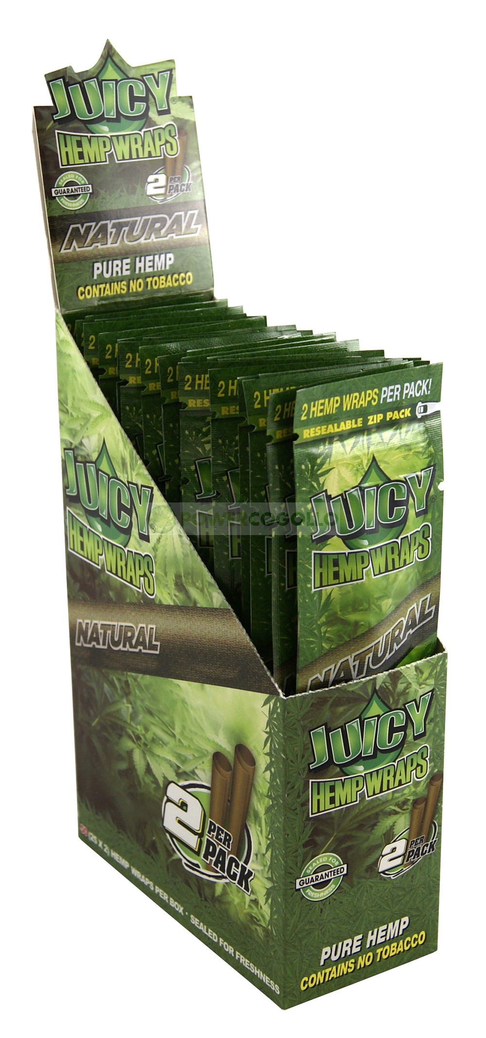 PAPEL DE CAÑAMO HEMP WRAPS JUICY BLUNT NATURAL 1