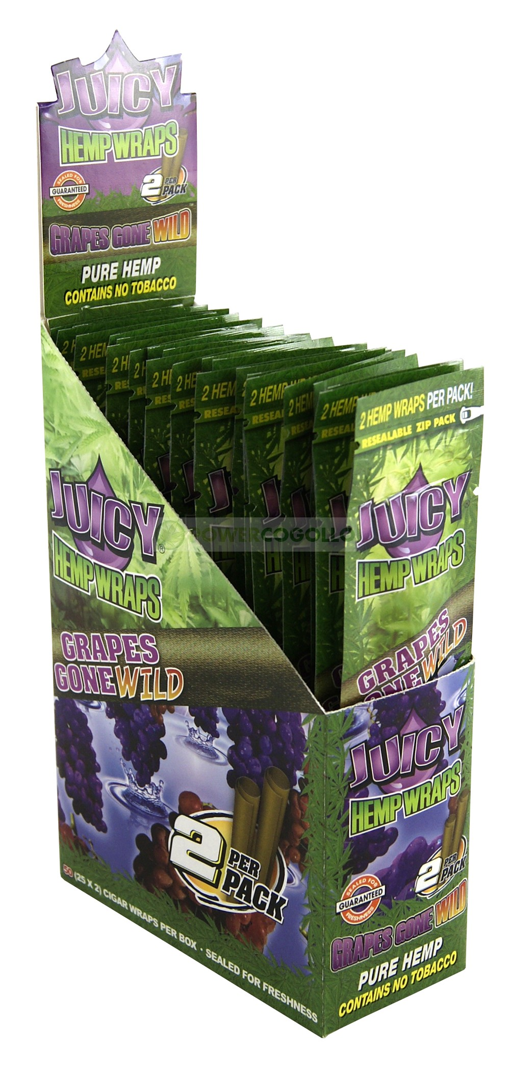 PAPEL DE CAÑAMO HEMP WRAPS JUICY BLUNT UVA 1