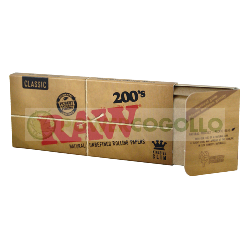 Papel de Fumar RAW K.S. Slim 200´s 1