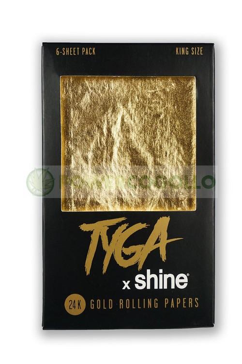 Papel de Oro Tyga 24K K.S  6 Hojas 2