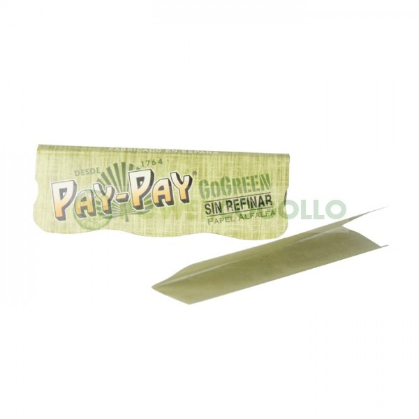 Librillo de Paple Pay-Pay 1/4 GoGreen de Alfalfa 0