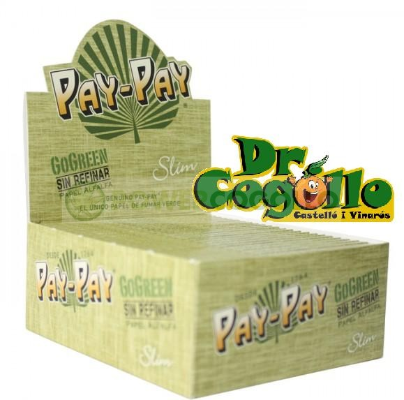 Librillo de Paple Pay-Pay K.S. GoGreen de Alfalfa 1