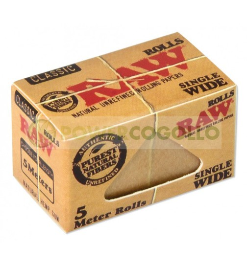 PAPEL RAW ROLLO SINGLE WIDE 5 METROS 0