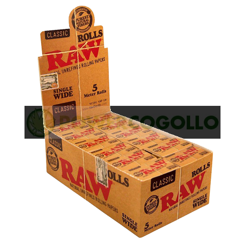 PAPEL RAW ROLLO SINGLE WIDE 5 METROS 2