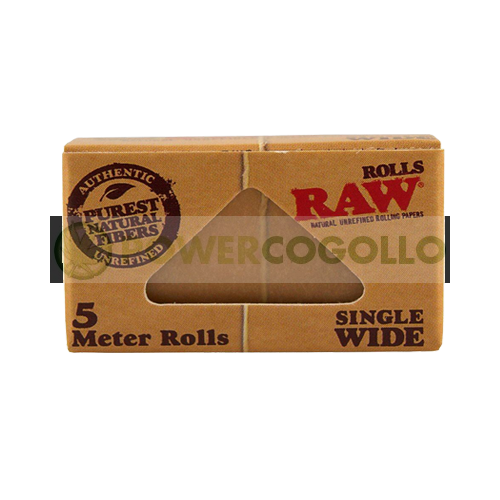 PAPEL RAW ROLLO SINGLE WIDE 5 METROS 1