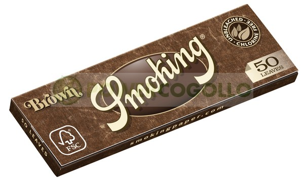 Papel Smoking Brown 1/4 0