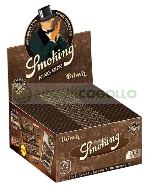 Papel Smoking Brown KS 1