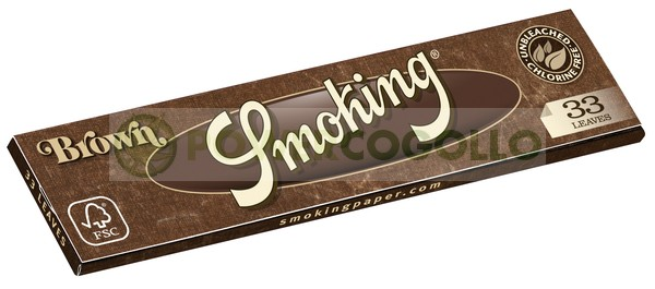 Papel Smoking Brown KS 0