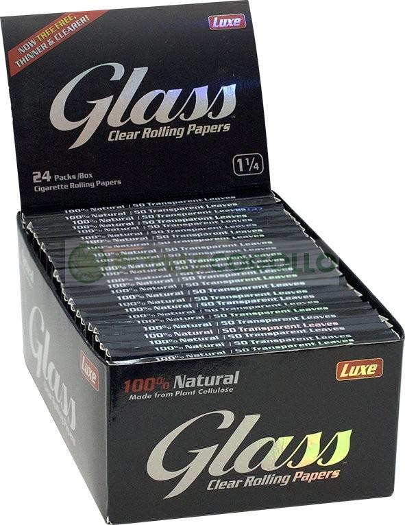 Papel de fumar Transparente Glass 1/4 CLEAR Celulosa Barato 0