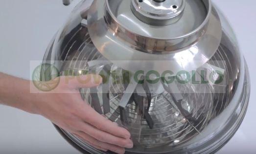Peladora Automática Pro-Spin Eléctrica 2