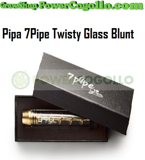Pipa 7Pipe Twisty Glass Blunt  1