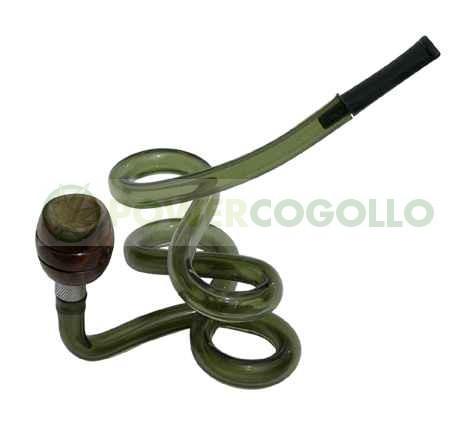 Pipa Metacrilato Espiral verde 1 1