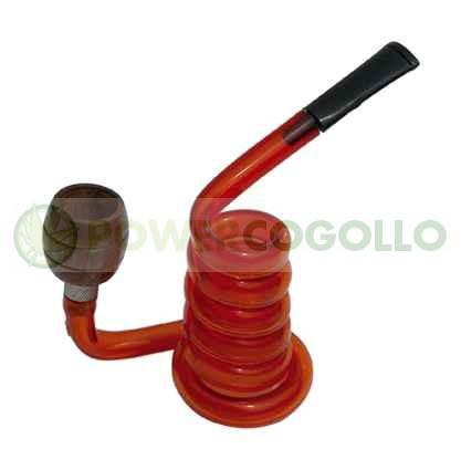 Pipa Metacrilato Espiral rojo 1 3