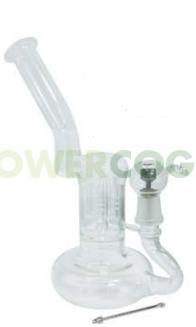 Pipa de Crista Bho D-Luxe 250 mm + Tornillo Titanio + Dabber 0
