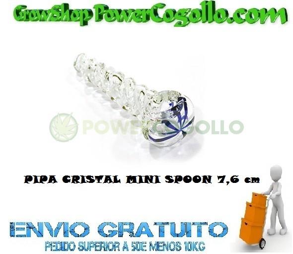 PIPA CRISTAL MINI SPOON 7,6 cm 0