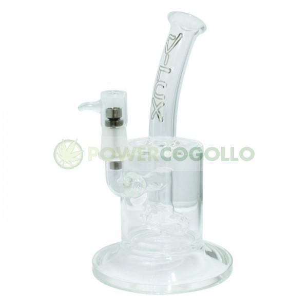 Pipa de Crista Bho D-Luxe 24 cm + Tornillo Titanio para fumar BHO, Aceites y Resina de Marihuana 0