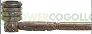 Pipa de Madera Palo de Rosa Tallada 34cm. PowerCogollo GrowShop Dr.Cogollo Castellón os trae la mejor colección de Bongs y Pipas con el mejor precio y con el transporte incluido en envíos superiores a 50€ (Envíos y Devoluciones).  Pipa de Madera de palo d 0