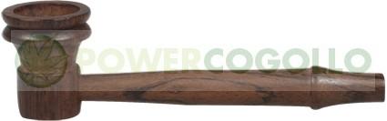Pipa de Madera de palo de rosa de 7,6 cm  0