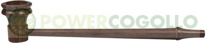 Pipa de Madera de palo de rosa Larga-Delgada de 17.7 cm  0