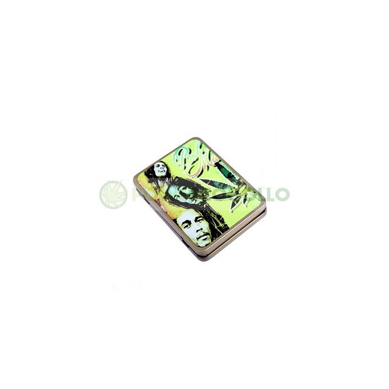 Pitillera Encendedor USB Bob Marley 0