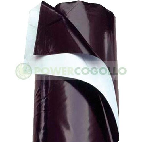 Plástico Reflectante Blanco y Negro (10mt) 2