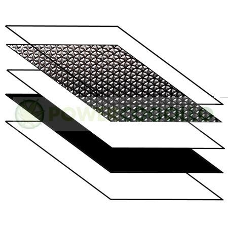 Plástico Reflectante Diamond Mylar Lightite 2