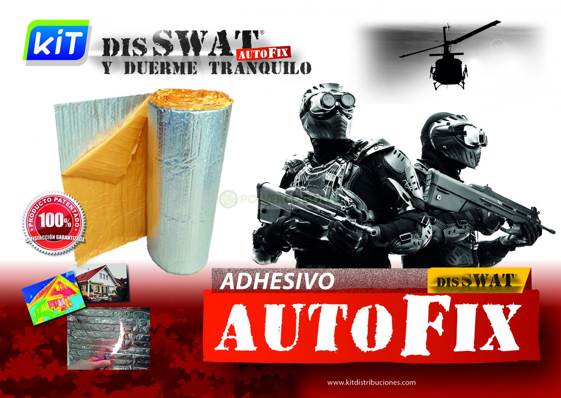 Plástico Reflectante Disswat Autofix 0