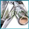 Plástico Reflectante Plateado Mylar 1 m Lineal 1