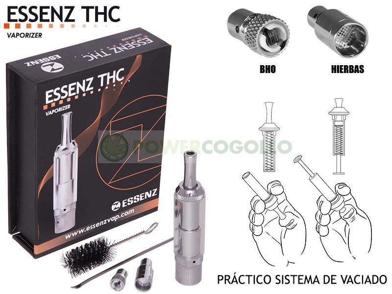 Kit Vaporizador Essenz THC para BHO y VEGETAL 0