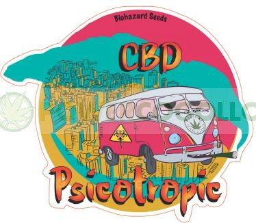Psicotropic CBD (Biohazard Seeds) 2