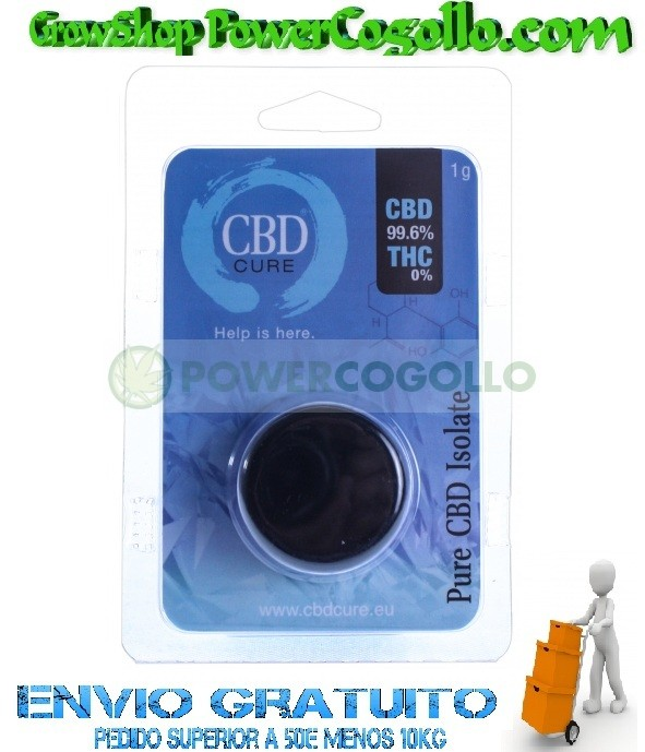 Pure CBD Isolate 99,60% (CBDCure) 0