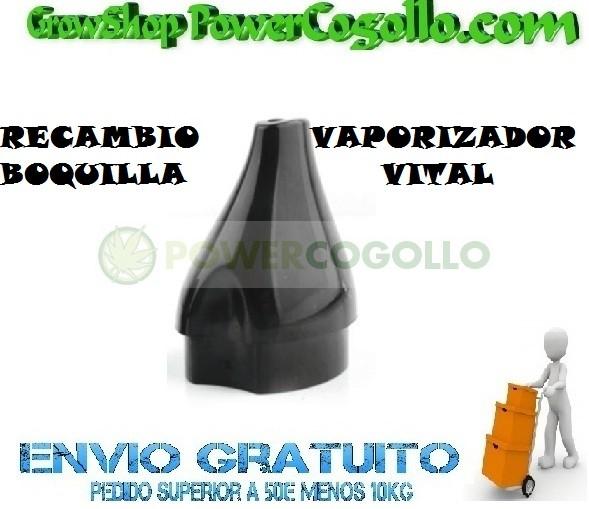 RECAMBIO BOQUILLA PLASTICO VAPORIZADOR VITAL 0
