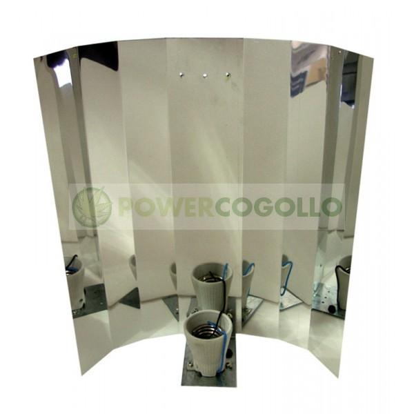 Reflector Liso con Casquillo para Cultivo Interior 0