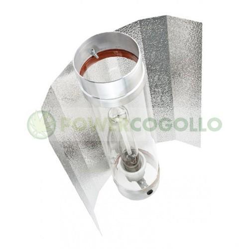 Reflector Cool Tube 125 cm refrigerar lámpara de cultivo 0
