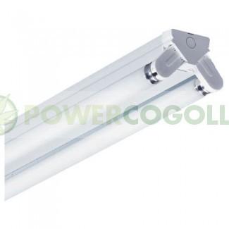 Regleta Industrial Tubos Fluorescentes 2x36w 2