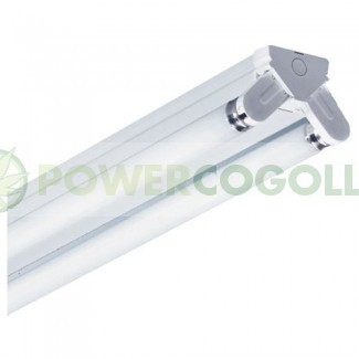 Regleta Industrial Tubos Fluorescentes 2x18w 0