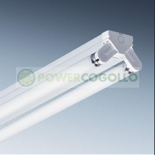 Regleta Industrial Tubos Fluorescentes 2x36w 1